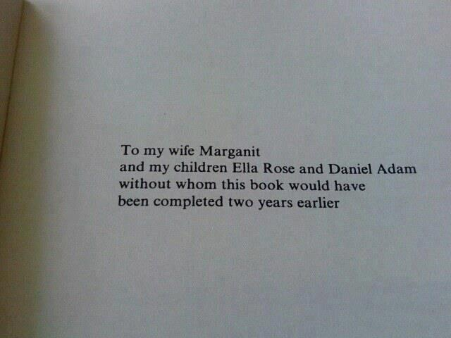 dissertation acknowledgements funny