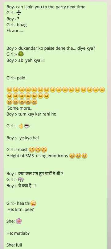 New WhatsApp Smiley Jokes in English | Jokofy.com